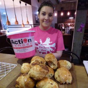 Uluru staff help raise £300 for Action Cancer.
