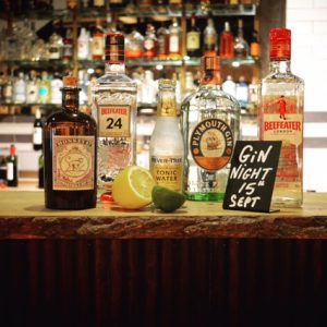 Gin Tasting Night at Uluru Bar & Grill in Armagh